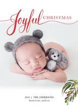 Joyful Christmas by Kimiyo Prints