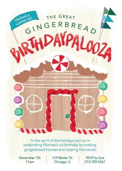 Gingerbread Birthdaypalooza