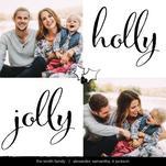 Holly Jolly Square by Jennifer Kimberly