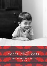 Happy Holly-days Stripe... by Vani Gupta