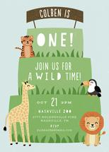 Wild Time by Ink and Letter Designs