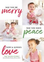 Merry, Peace & Love by Janelle Williams
