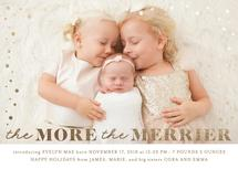 Merrier Foil Announceme... by Ink and Letter Designs