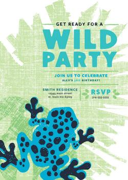 Get Ready For A Wild Party!