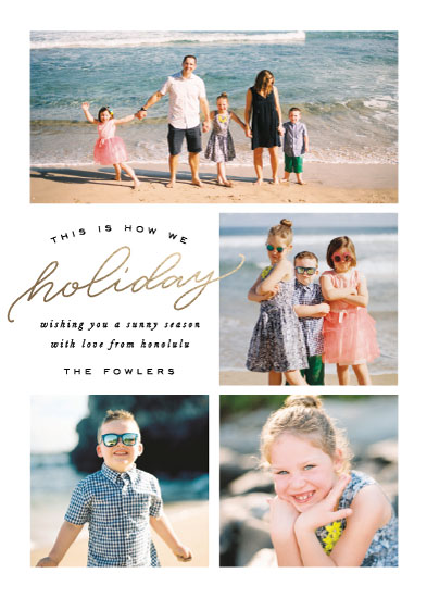 holiday photo cards - How We Holiday by Leah Bisch
