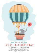 Hot Air Balloon Birthda... by Camilla Acosta
