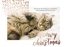 Meowy Christmas Cat gre... by Esmé Jönsson