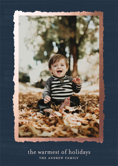 holiday photo cards - Warm and Rich by Gray Star Design