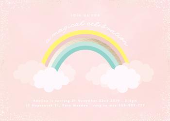 Sparkly Rainbow