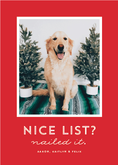 holiday photo cards - Nice list by Lea Delaveris