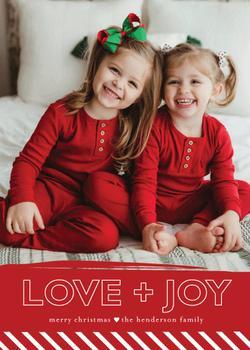 Brushstroke Love and Joy