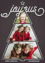 Joyous Christmas Tree by Gigi and Mae Studios