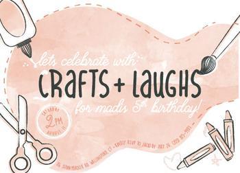 Crafts & Laughs