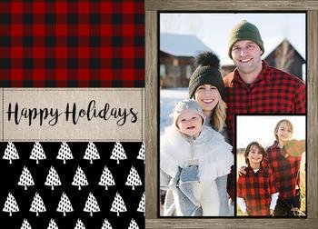 Happy Holidays Buffalo Check