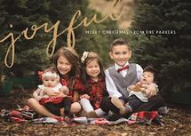 Joyful Photo Card by Isabel Davis
