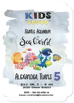 Aquarium Birthday Party