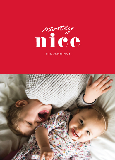 holiday photo cards - Almost Nice by Itsy Belle Studio
