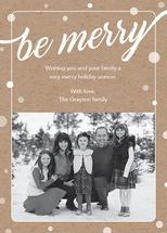 Be Merry Kraft by Pauline Lee