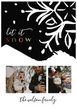 Snowy Day Holiday Card by Michelle Shanaman