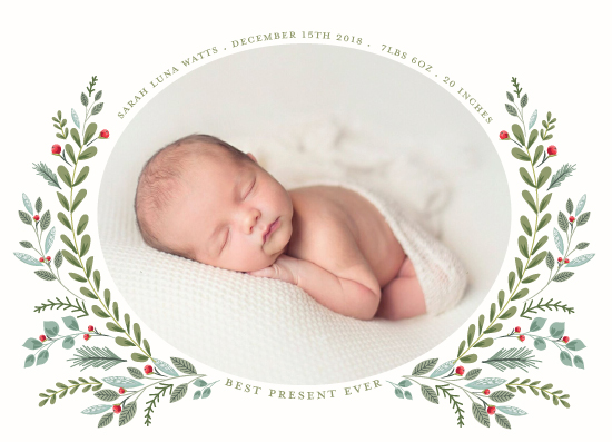 holiday photo cards - Most Wonderful Time by Susan Moyal