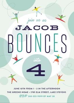 Bounce into a birthday