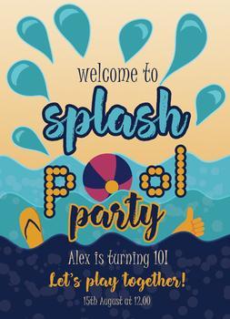 Splash pool party