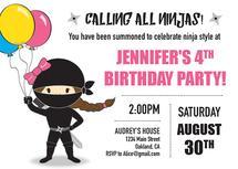 Party Girl Ninja Style by Pauline Lee