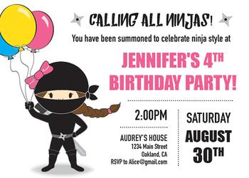 Party Girl Ninja Style