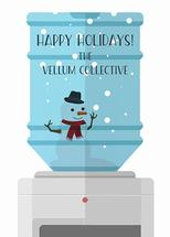 SNOW GLOBE WATER COOLER by Jason Grimes