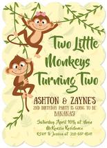 Two Monkeys by Audra Candelaria