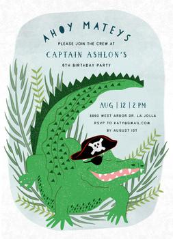 pirate alligator