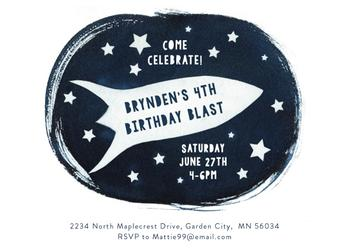 Birthday Blast off
