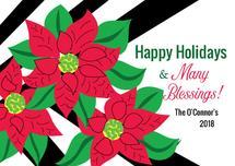 Holiday Floral by Kristen Niedzielski