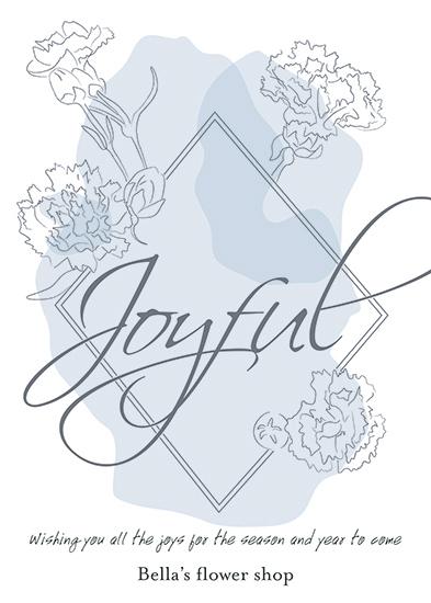 - Carnation greetings by ALIX SORDET