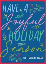 Joyful Holiday Season C... by Paper Etiquette