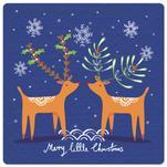 Folk Deers by Sarah Grateley