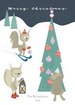 squirrel christmas by AMagnes