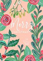 Christmas in Rose by Gisela Benitez