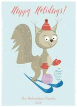 Squirrel in the snow by AMagnes