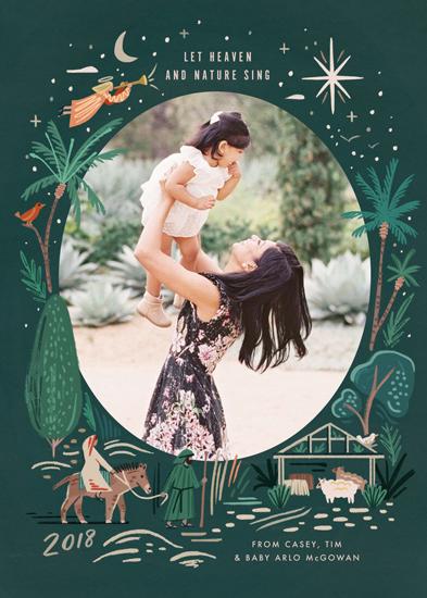 holiday photo cards - Let Nature Sing by Morgan Ramberg