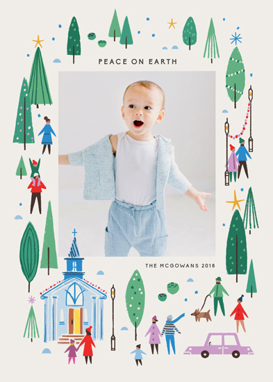 holiday photo cards - Going to Church by Morgan Ramberg