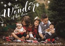 Wonder of His Love Snow... by Little Scribbles Paper