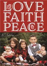 love, peace, hope, fait... by Bethan Osman