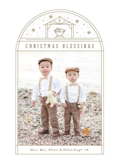 holiday photo cards - Star Bright by Michelle Taylor