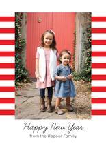 Stripes card by Sarah Cohn