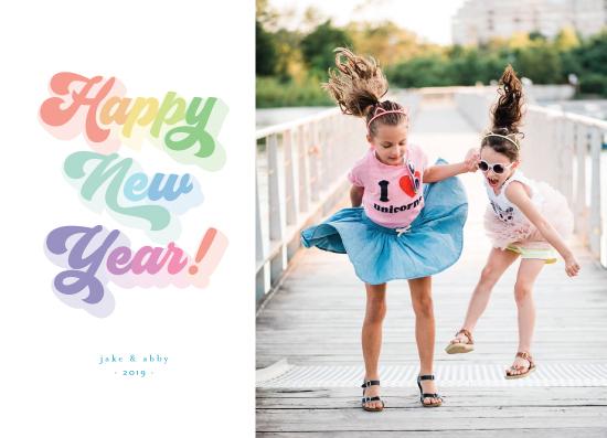 new year's cards - So Groovy by Simona Cavallaro