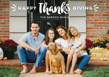 THANKS + giving by Ink and Letter Designs