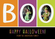 BOO Halloween Colors by Wonderment Paper Co.