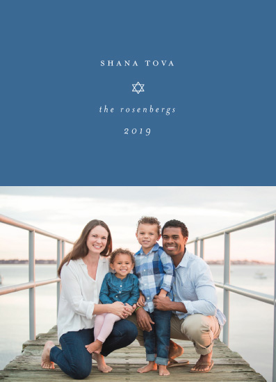 holiday photo cards - Shana Tova by Morgan Kendall