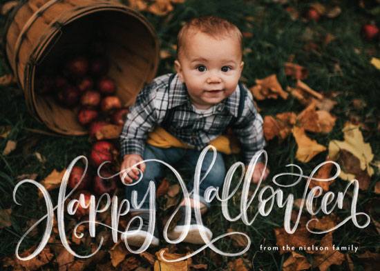 holiday photo cards - Happy Halloween by Amy Payne